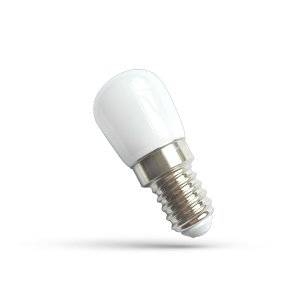 AB 220-240V 2W/WW E14 matná 23x51mm LED žiarovka