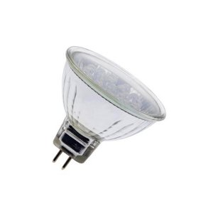 MR16 12V 1.5W 18LED zelená LED žiarovka