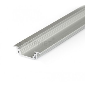 Profil pre LED - GROOVE 10 anod 2m