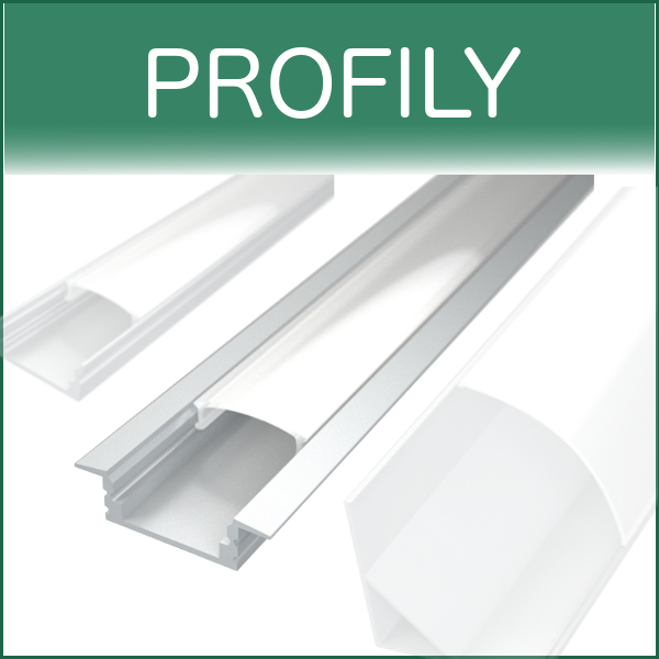 filter LED profily